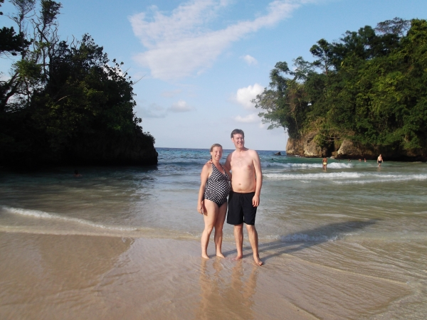 H, I and the bump at 9 months at Frenchmans Cove