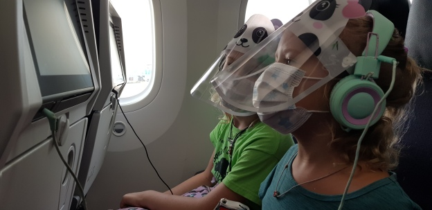 Flying with kids during the Pandemic